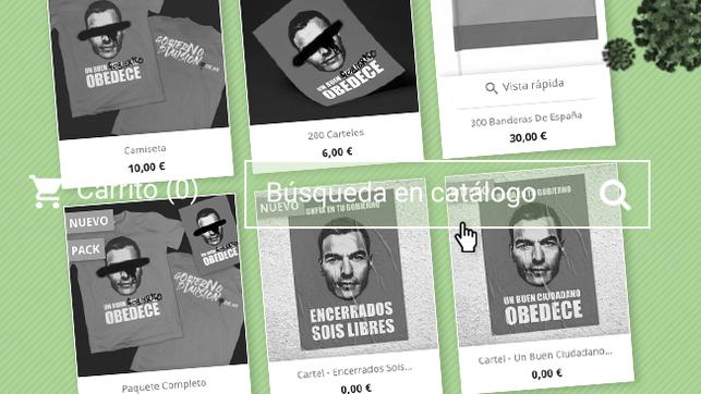 La campaña 'Gobierno dimisión' ha dejado al descubierto datos personales y bancarios de clientes de su tienda online